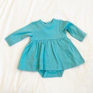 Primary Long Sleeve Baby Dress (3-6M)
